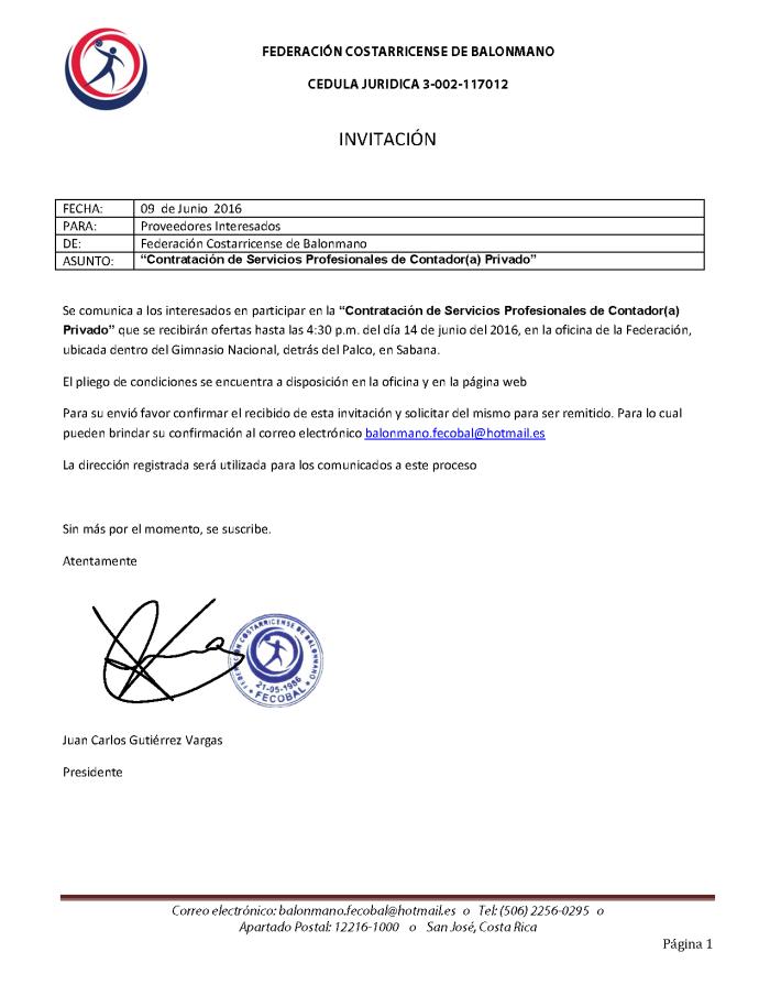 Invitacion a Concurso de Servicios Profesionales de  Contador Privado2